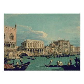 Bridge of Sighs, Venice  c.1740 Poster