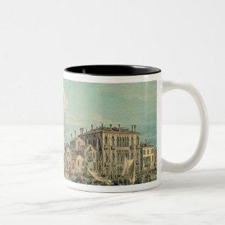 Bridge of Sighs, Venice  c.1740 Two-Tone Coffee Mug