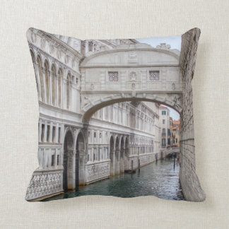 Bridge Of Sighs Venice Italy Pillow