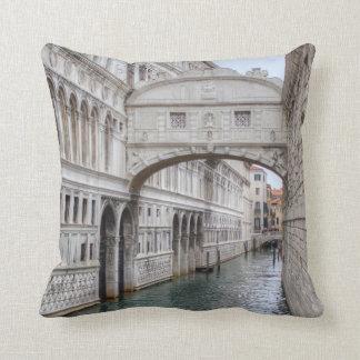 Bridge Of Sighs Venice Italy Throw Pillow
