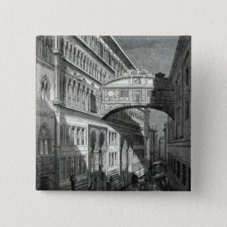 Bridge of Sighs, Venice Pinback Button
