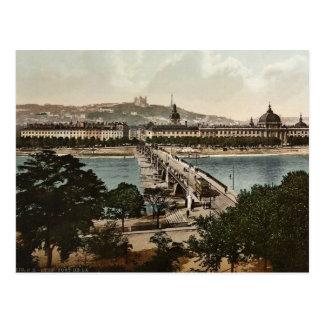 Bridge of the Guillotiere and the Hotel de Dieu, L Postcard