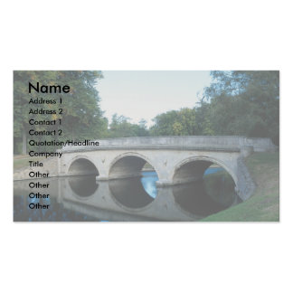 Bridge on River Cam, Trinity College, Dublin, Irel Business Cards