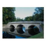 Bridge on River Cam, Trinity College, Dublin, Irel Postcard