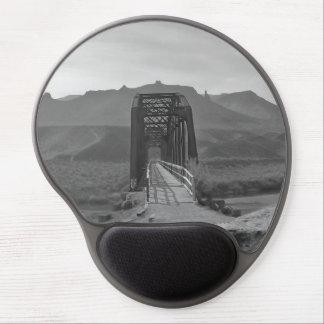 Bridge on Snake River Gel Mousepad- Fern Savannah
