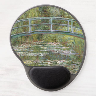Bridge over a Pond of Water Lilies by Claude Monet Gel Mouse Pad