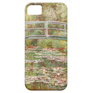 Bridge over a Pond of Water Lilies by Claude Monet iPhone SE/5/5s Case