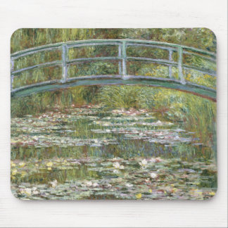 Bridge over a Pond of Water Lilies by Claude Monet Mouse Pad