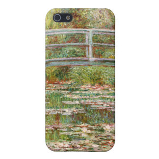 Bridge over a Pond of Water Lilies, Claude Monet Cover For iPhone SE/5/5s