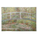 Bridge Over a Pond of Water Lilies Place Mats