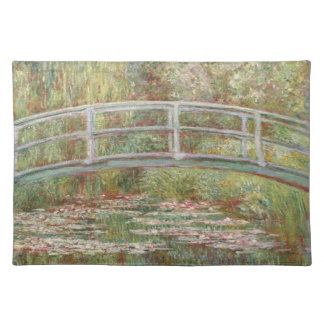 Bridge Over a Pond of Water Lilies Placemat