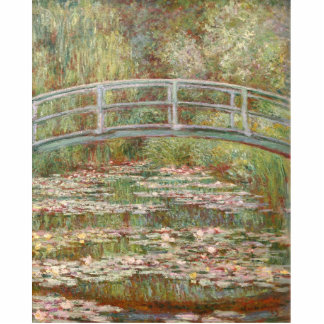 Bridge Over a Pond of Water Lilies Statuette