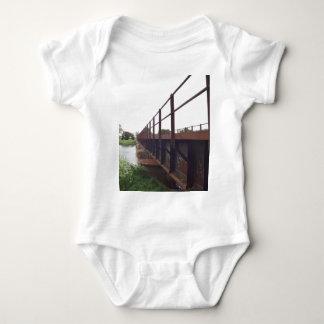 Bridge over baby bodysuit
