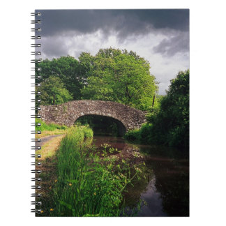 Bridge over Canal at Brecon, Wales Notebook