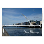 Bridge Over Dublin Ireland River Card at Zazzle