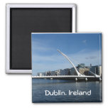 Bridge Over Dublin Ireland River Magnet at Zazzle