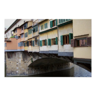 Bridge Over Florence Poster