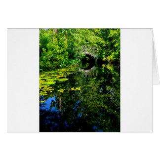 Bridge Over Peaceful Water Card