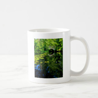 Bridge Over Peaceful Water Coffee Mug