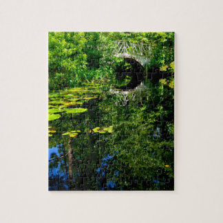 Bridge Over Peaceful Water Jigsaw Puzzle