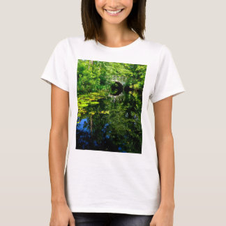 Bridge Over Peaceful Water T-Shirt