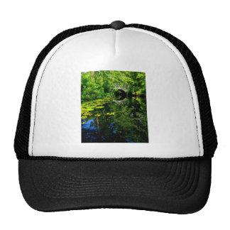Bridge Over Peaceful Water Trucker Hat