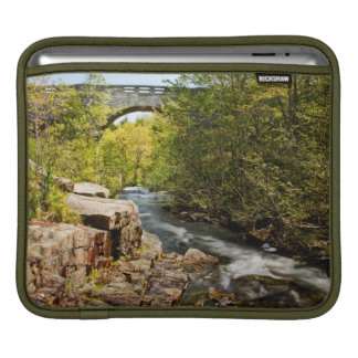 Bridge Over River Sleeve For iPads