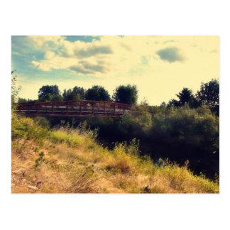 Bridge over Samammish River Postcard