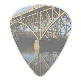 Bridge Over Schuylkill River Acetal Guitar Pick