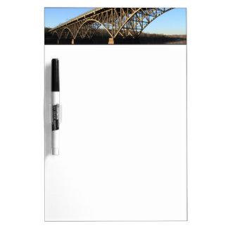 Bridge Over Schuylkill River Dry-Erase Whiteboards