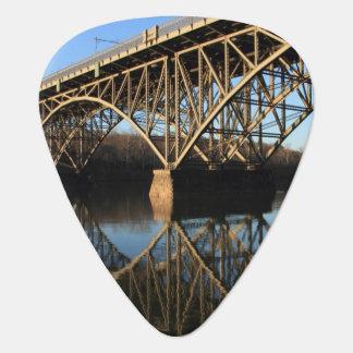 Bridge Over Schuylkill River Guitar Pick