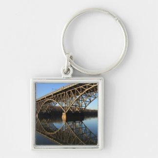 Bridge Over Schuylkill River Keychain