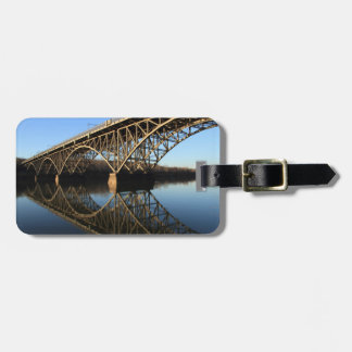 Bridge Over Schuylkill River Tag For Luggage