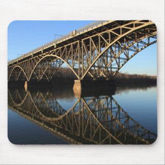 Bridge Over Schuylkill River Mouse Pad