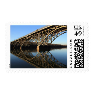 Bridge Over Schuylkill River Postage Stamps