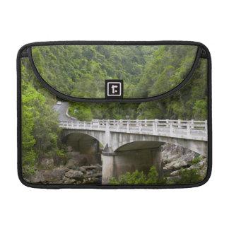 Bridge Over Stream, Tsitsikamma National Park Sleeves For MacBooks