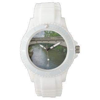 Bridge Over Sugar Creek Wrist Watch