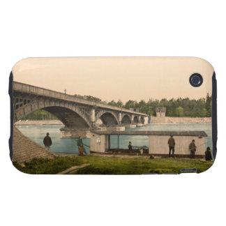 Bridge over the Allier, Vichy, France iPhone 3 Tough Case