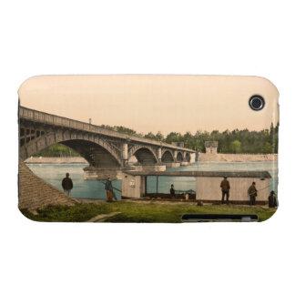 Bridge over the Allier, Vichy, France iPhone 3 Case