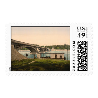Bridge over the Allier, Vichy, France Stamps