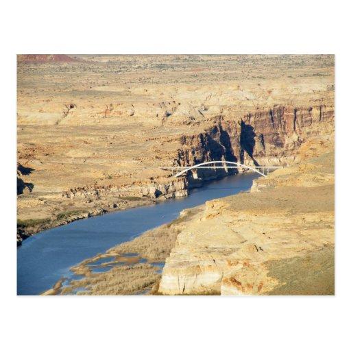 Bridge over the Colorado Post Card