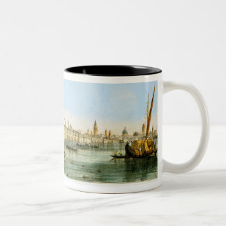 Bridge over the Lagoon, from 'Views of Principal m Two-Tone Coffee Mug