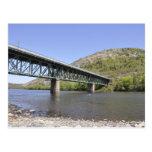 bridge over the Lehigh River Postcard