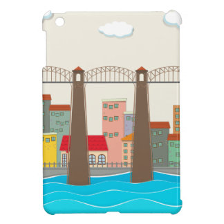Bridge over the river and city case for the iPad mini