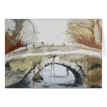 Bridge over the River Greeting Cards