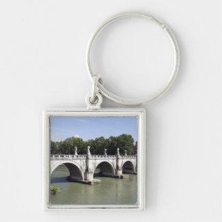 Bridge over the river Tiber, Rome (Italy). It's Keychain