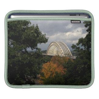 Bridge over the river Waal, Nijmegen iPad Sleeve