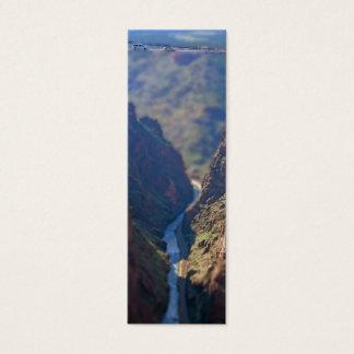 Bridge Over the Royal Gorge bookmarks Mini Business Card