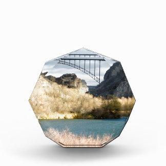 Bridge over the Snake River Acrylic Award