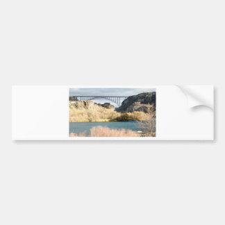 Bridge over the Snake River Bumper Sticker